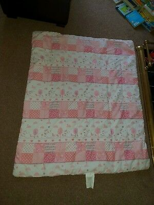 Baby Girl Unicorn Cot Duvet - Excellent Condition
