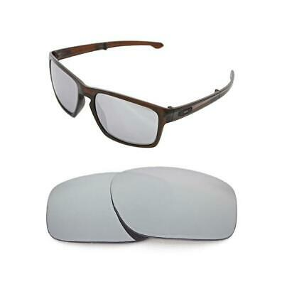 fb8196c3c70e New Polarized Silver Ice Replacement Lens For Oakley Sliver Round Sunglasses