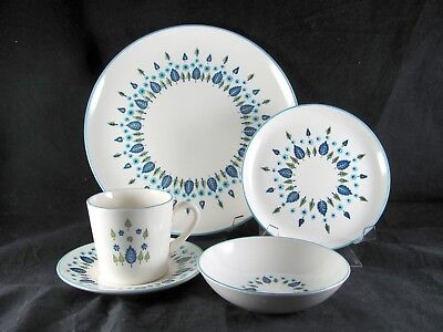 Marcrest Swiss Chalet Alpine Dinnerware, 20 pc, Svc for 4, Stetson, 3 sets avail
