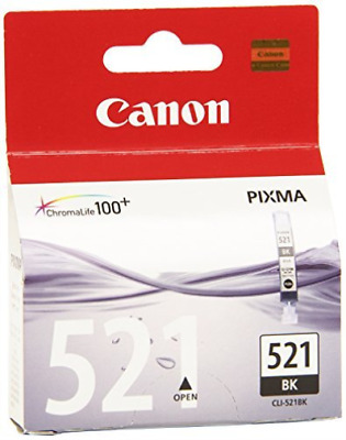 Canon Cli-521 Ink Cartridge Black 2933B001 Nuevo