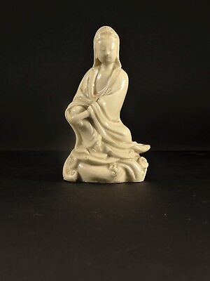 Antique Chinese Porcelain Dehua Blanc de Chine GuanYin Kangxi Private Collection