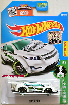 Autos, Lkw & Busse Hot Wheels 2016 Hw Grün Speed Auto- & Verkehrsmodelle Super Volt Weiß