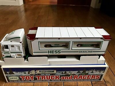 New Hess Toy Truck And Racers 1997