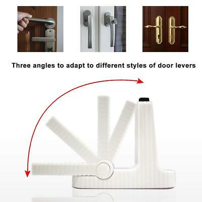 2020 Door Lever Lock Child Toddler Proof Safety Doors Handles 3M Adhesive 4 pis
