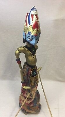 Antique Indonesian Stick Puppets