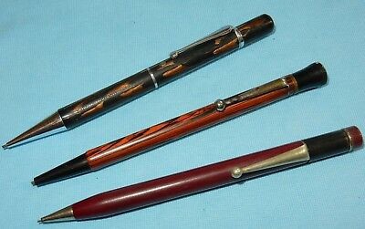 Vintage Mixed Lot Of Mechanical Propelling Pencils - Lot Of 3