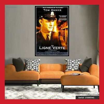 Toile Affiche Cinema Movie Sortie Film Poster Photo La Ligne Verte Dvd 2 Formats