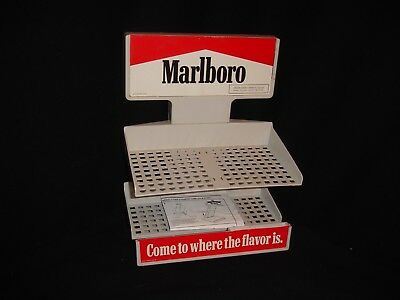 Vintage 1995 MARLBORO Cigarettes Display Rack #67384 with Assembly Instructions