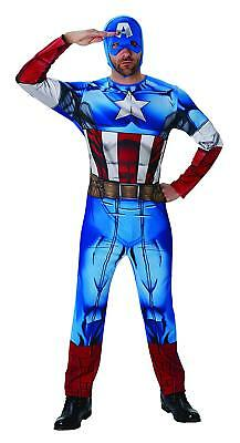 Costume Originale Marvel Avengers Capitan Captain America Carnevale Cosplay