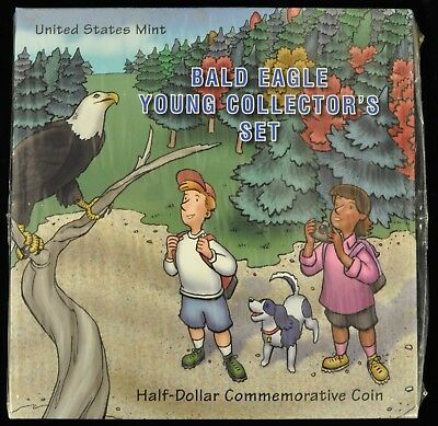 *Sealed- Bald Eagle Young Collector's Set. Half Dollar Commem Coin. ITEM B17