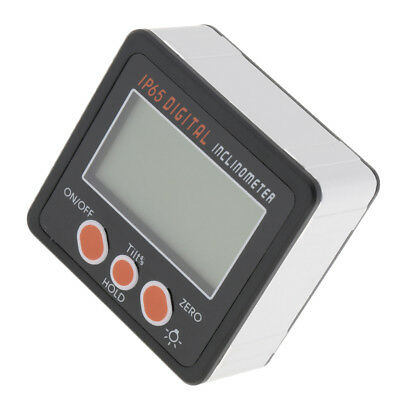 Electronic Digital Inclinometer Angle Meter Slope Gauge Level with Backlight