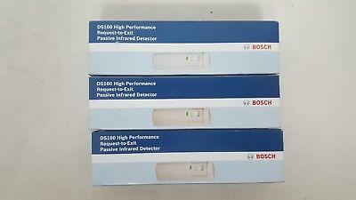 LOT OF 3 Bosch DS160 High Performance Request-to-Exit Passive Infrared Detector