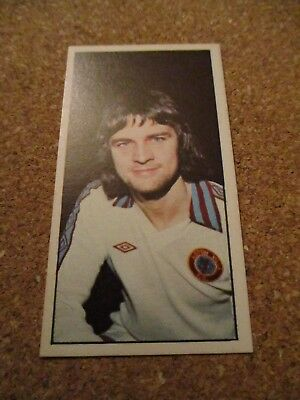 Bassett Football 1978-79 #25 Brian Little Card Excellent Condition