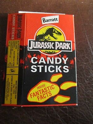 Barratt Jurassic Park Candy Stick Box