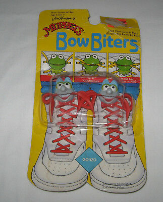 1988 Muppets Bow Biters-Gonzo-New In Package