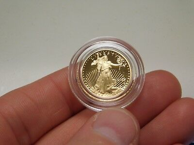 2005 Proof $5 Tenth Ounce Gold American Eagle