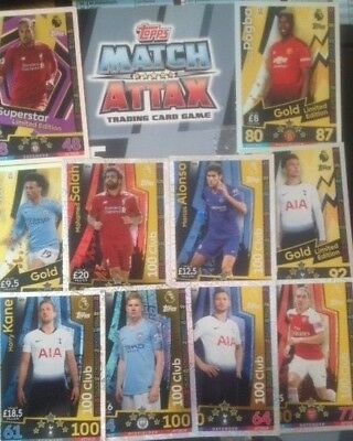 Match Attax 2018/19 18/19  Limited Editions , 100 Clubs  *