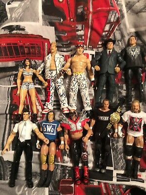 Bundle Of Wwe Wwf Elites