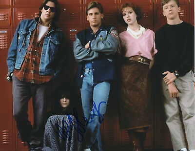 GFA The Breakfast Club Ally Sheedy Signiert 8x10 Foto A1 Coa