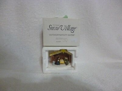 Dept 56 Snow Village Outdoor Nativity Scene - 51357