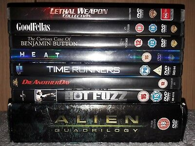 14 Action - Sci-Fi - Comedy - DVD's - Free postage