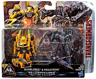 Transformers The Last Knight Legion Figure 2 Pack - Bumblebee and Megatron