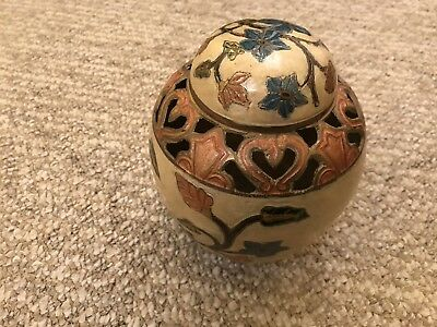 Brass Hand Made Indian Jar