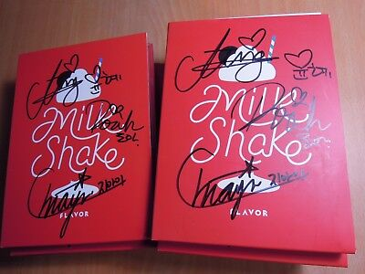 FLAVOR - MILKSHAKE (1st Single Promo) with Autographed (Signed)