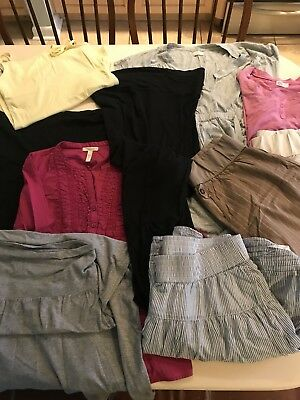 Gap And Old Navy Maternity Clothes Sz Small And Medium. See Pictures. 10 Pcs
