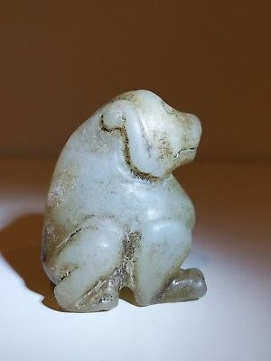 Antique Chinese Hand Carved jade / hardstone Archaistic Creature