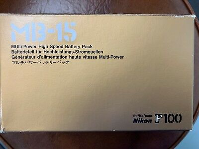 Nikon MB-15 Multi-Power High Speed Battery Pack