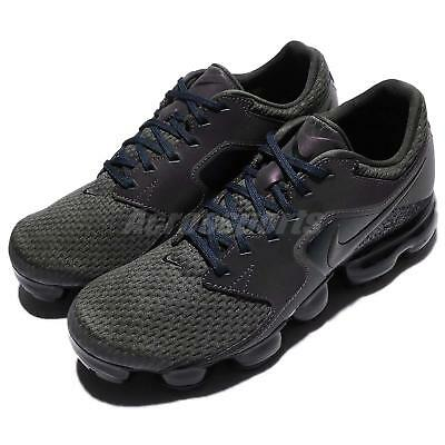 new product fb7d1 9f3fb Nike Air Vapormax GS Reflective Midnight Fog Kids Women Running Shoes 917963 -007