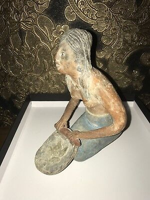 Antique Clay Tribal Figure Pre Colombian