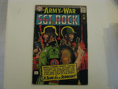 Our Army At War Sgt Rock   Pub 1966