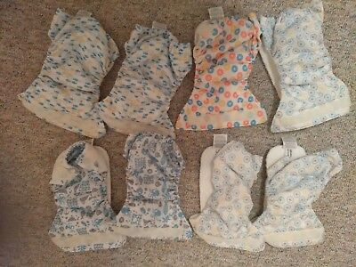 Thirsties Newborn All In One Lot of 8- preowned