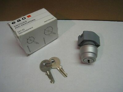 EAO Keylock Switch 704.120.0