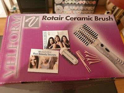 TV Das Original Velform Rotair Ceramic Brush, Warmluft-Haarbürste