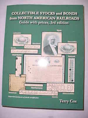 North American Railroads Stock & Bonds Illustrated Book FREE Shipping NEW 2018