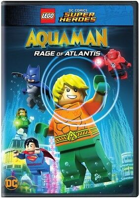 Lego Dc Super Heroes: Aquaman - Rage Of Atlantis 8839296298 (DVD Used Very Good)