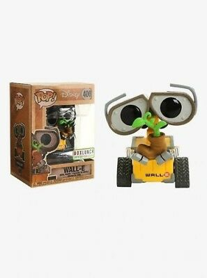 Funko pop disney pixar wall e earth day vinyl figure 400 box lunch exclusive