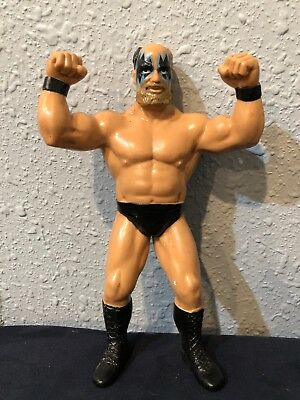 WWF LJN Warlord 1989 GRAND TOYS BLACK CARD SERIES- RARE WWE