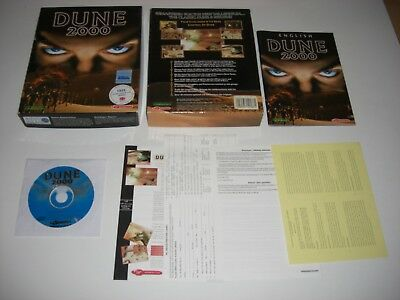 DUNE 2000 Pc Cd Rom Original BIG BOX - FAST SECURE POST