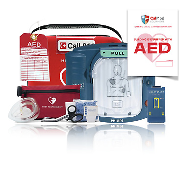 Philips Heartstart Onsite AED Defibrillator M5066A 4 Year Factory Warranty