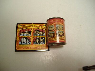 2 Advertising Nabisco Barnums Animals cookies magnets