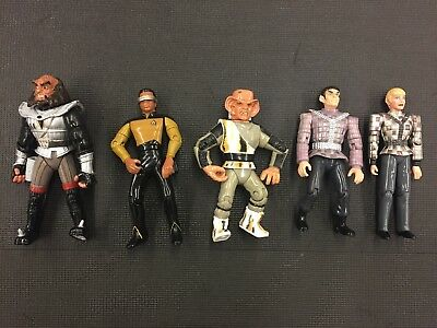 Star Trek Action Figures Lot Of Five vintage great shape collectable
