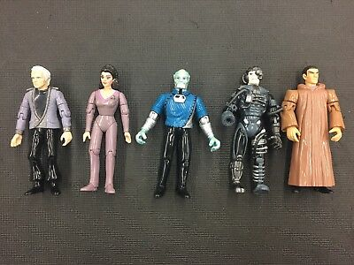 Star Trek Action Figures Lot Of Five vintage and collectable great condition