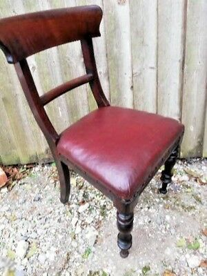 Regency  Saber Leg Mahogany Dining chair C1810 (Georgian) Dorset