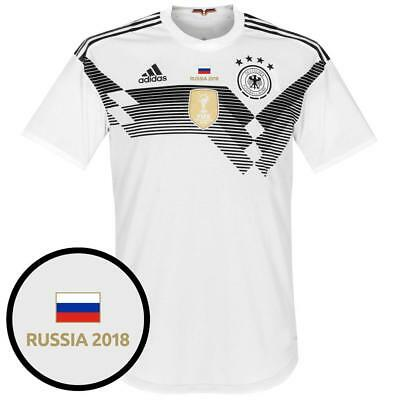 4c722dbdf Germany World Cup KIDS Home Shirt 2018 inc FREE Russia 2018 Tournament  Transfer
