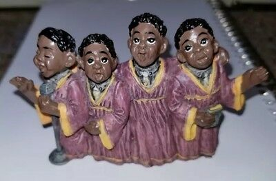 Young's Treasures of the Heart Figurine African American Choir  Gospel Singers