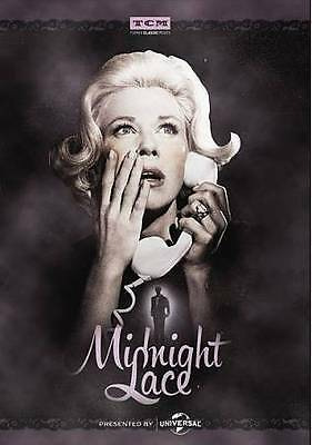 Midnight Lace DVD (1960) - (2014 First Printing) Brand New&Sealed